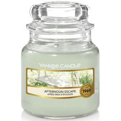 Yankee Candle Jar Glaskerze klein 104g Afternoon Escape