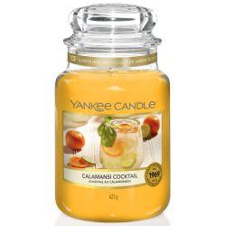 Yankee Candle Jar Glaskerze groß 623g Calamansi Cocktail