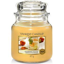 Yankee Candle Jar Glaskerze mittel 411g Calamansi Cocktail