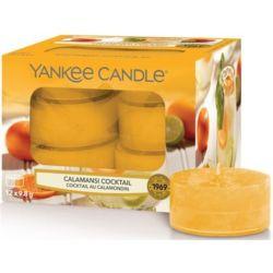 Yankee Candle Teelichter 12er Pack Calamansi Cocktail