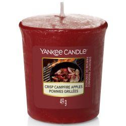 Yankee Candle Sampler Votivkerze Crisp Campfire Apples