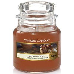 Yankee Candle Jar Glaskerze klein 104g Pecan Pie Bites