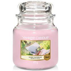 Yankee Candle Jar Glaskerze mittel 411g Sunny Daydream