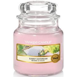 Yankee Candle Jar Glaskerze klein 104g Sunny Daydream