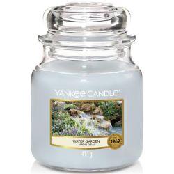 Yankee Candle Jar Glaskerze mittel 411g Water Garden