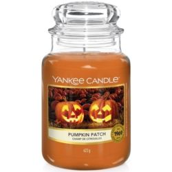 Yankee Candle Jar Glaskerze groß 623g Pumpkin Patch