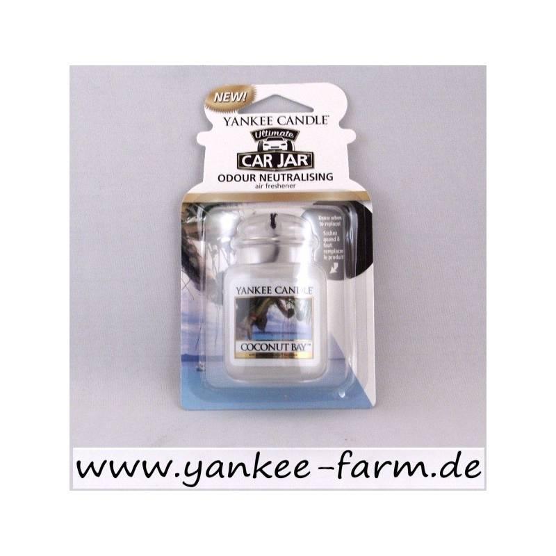 yankee candle car jar ultimate coconut bay. Black Bedroom Furniture Sets. Home Design Ideas