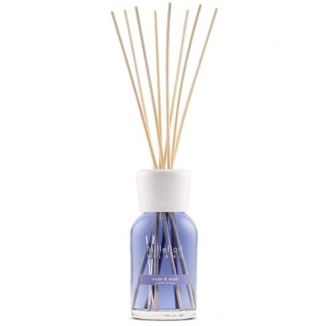 Violet & Musk Millefiori Natural Stick Diffusor 250 ml