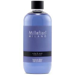 Violet & Musk Millefiori Natural Refill 500 ml