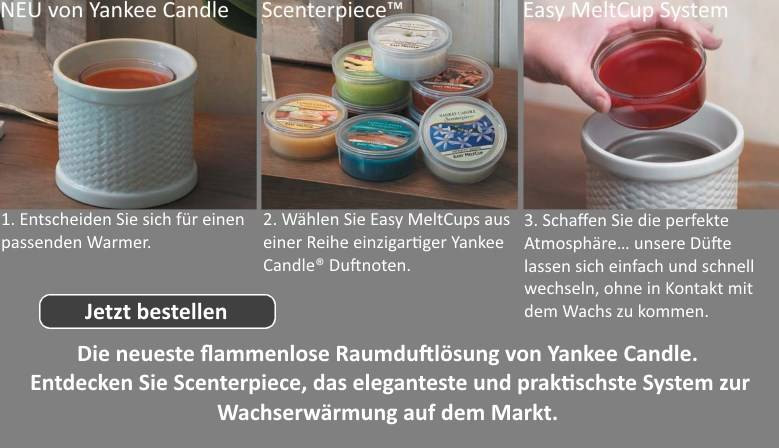 Yankee Candle Scenterpiece mit Easy MeltCup System