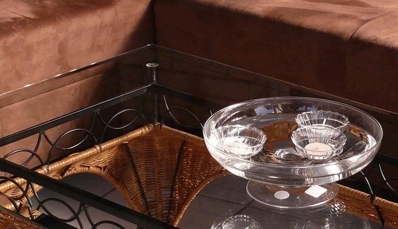 Aktion Schwimmkerzen-Teelicht-Schale
